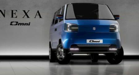 Maruti Suzuki electric omni render