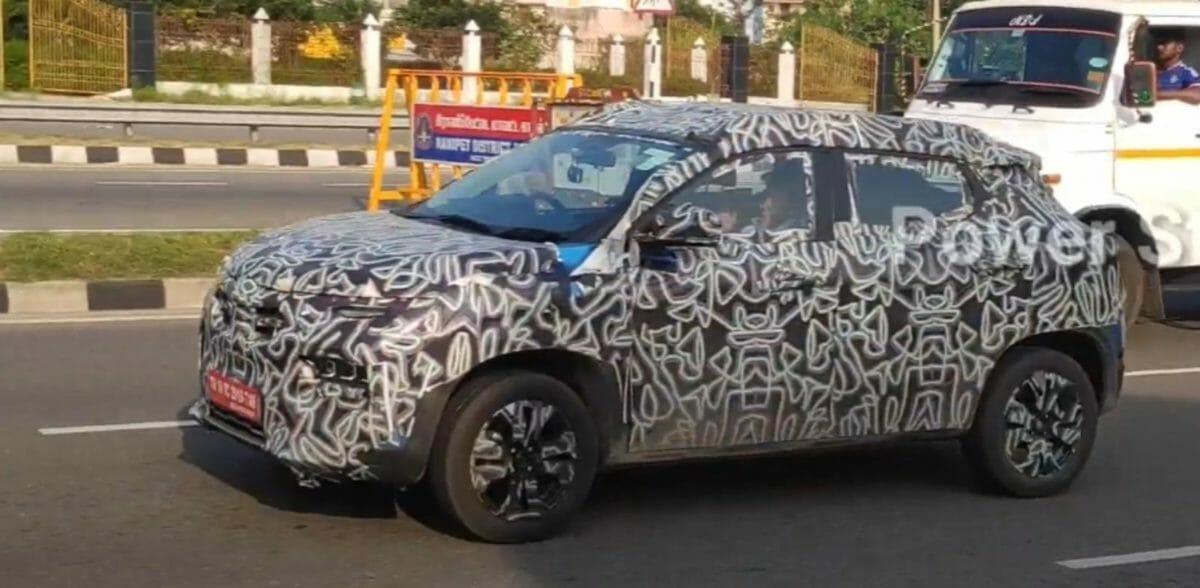 Renault Kiger spied again