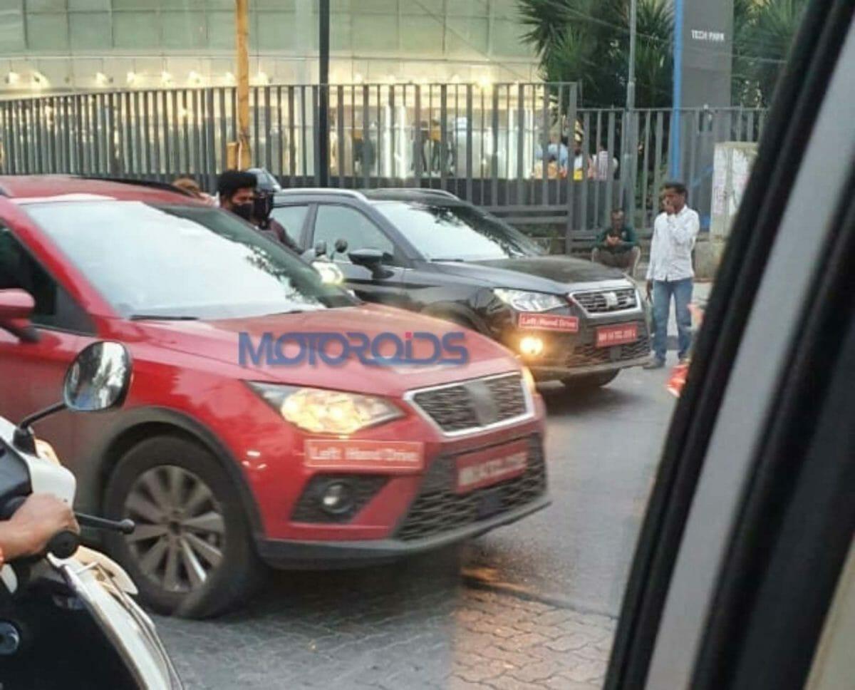 Seat Arona SUV spied (1)