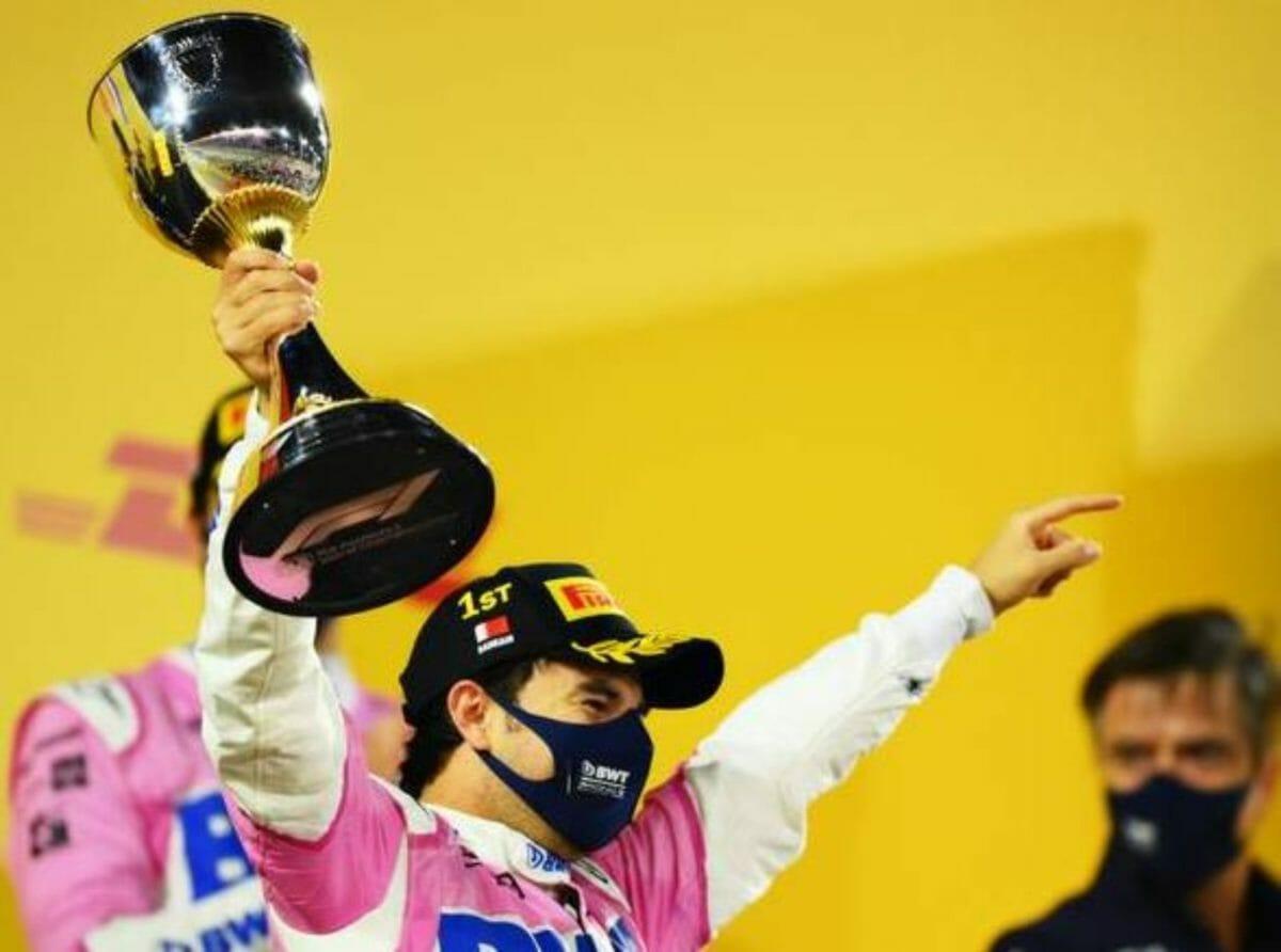 Sergio Perez wins the Sakhir Grand prix 2020