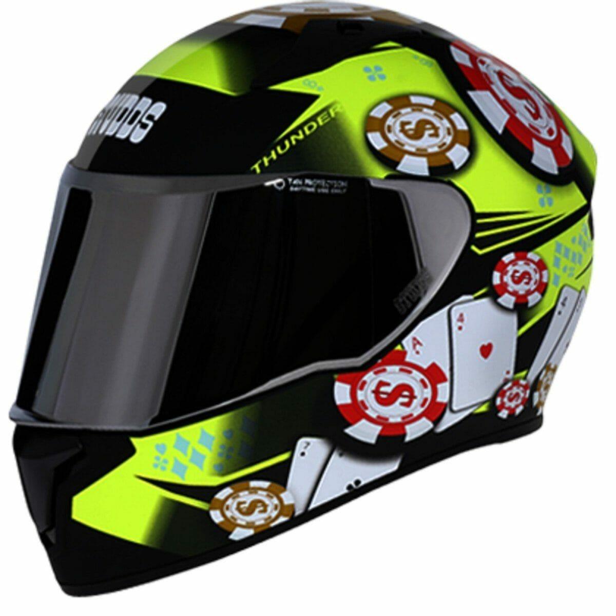Studds thunder D6 helmet (1)