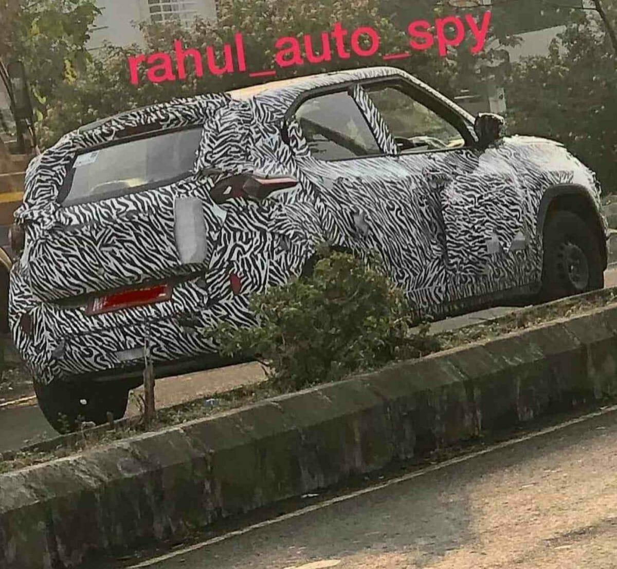 Tata HBX Spied Again (1)