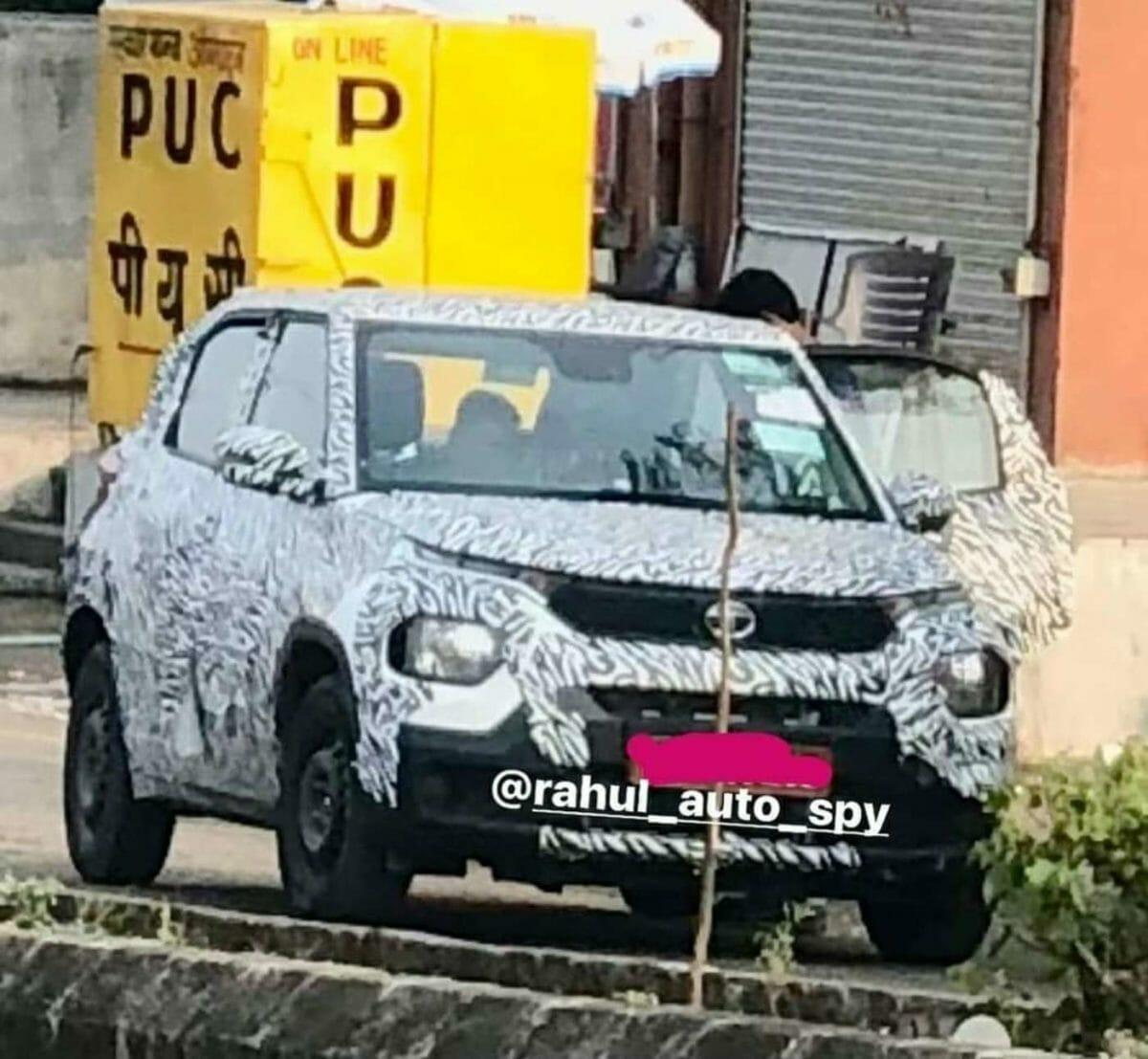 Tata HBX Spied Again