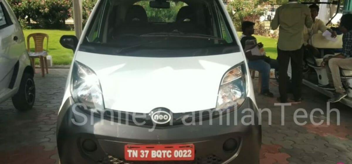Tata Nano EV front look