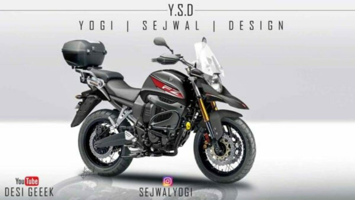 Yamaha FZ X patent render