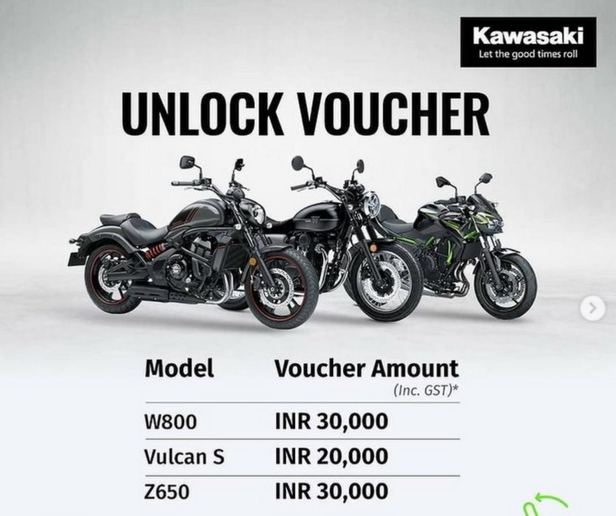 kawasaki year end discounts