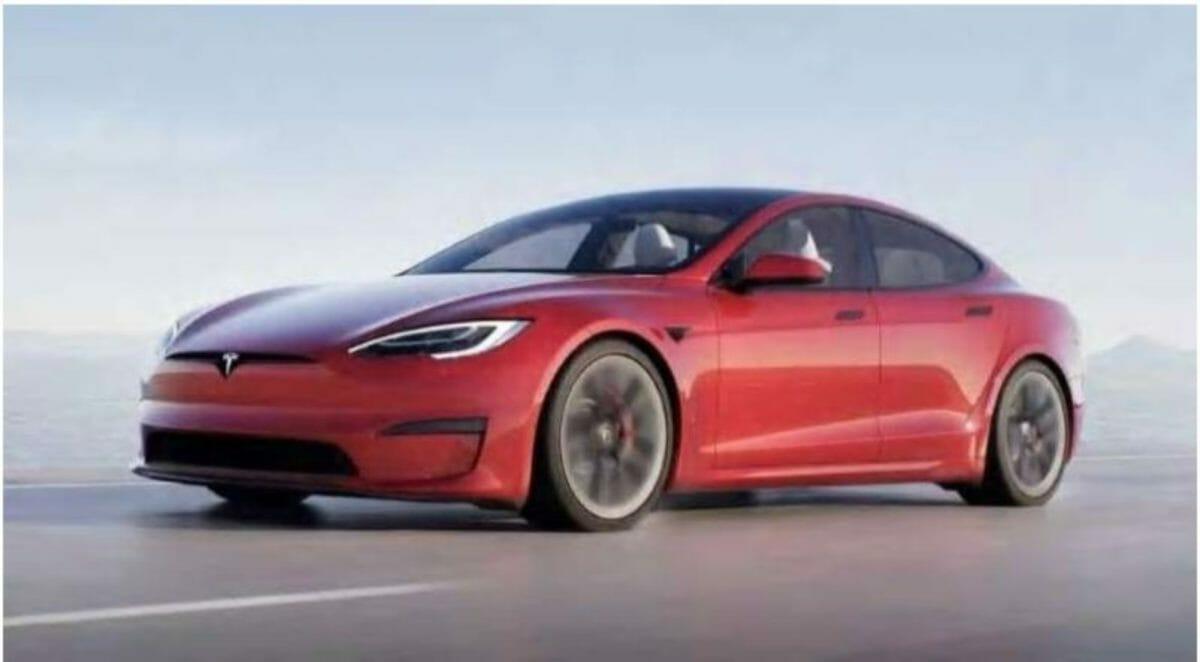 2021 Tesla Model S front 3 quarters
