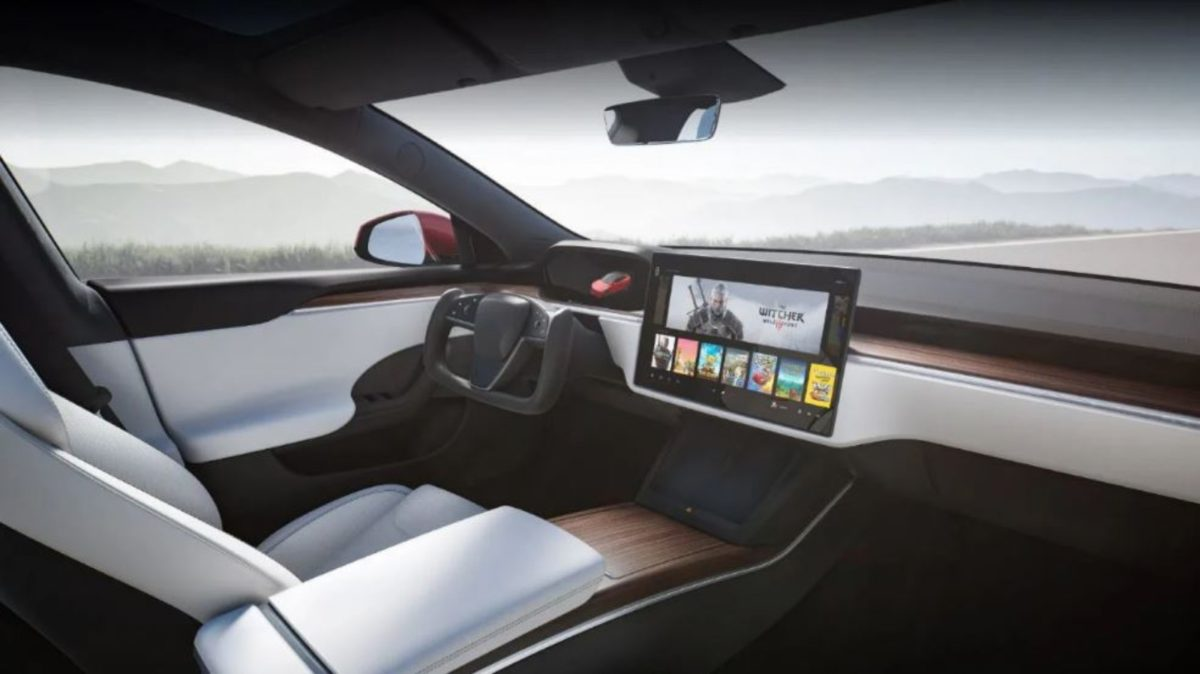 2021 Tesla Model S interiors