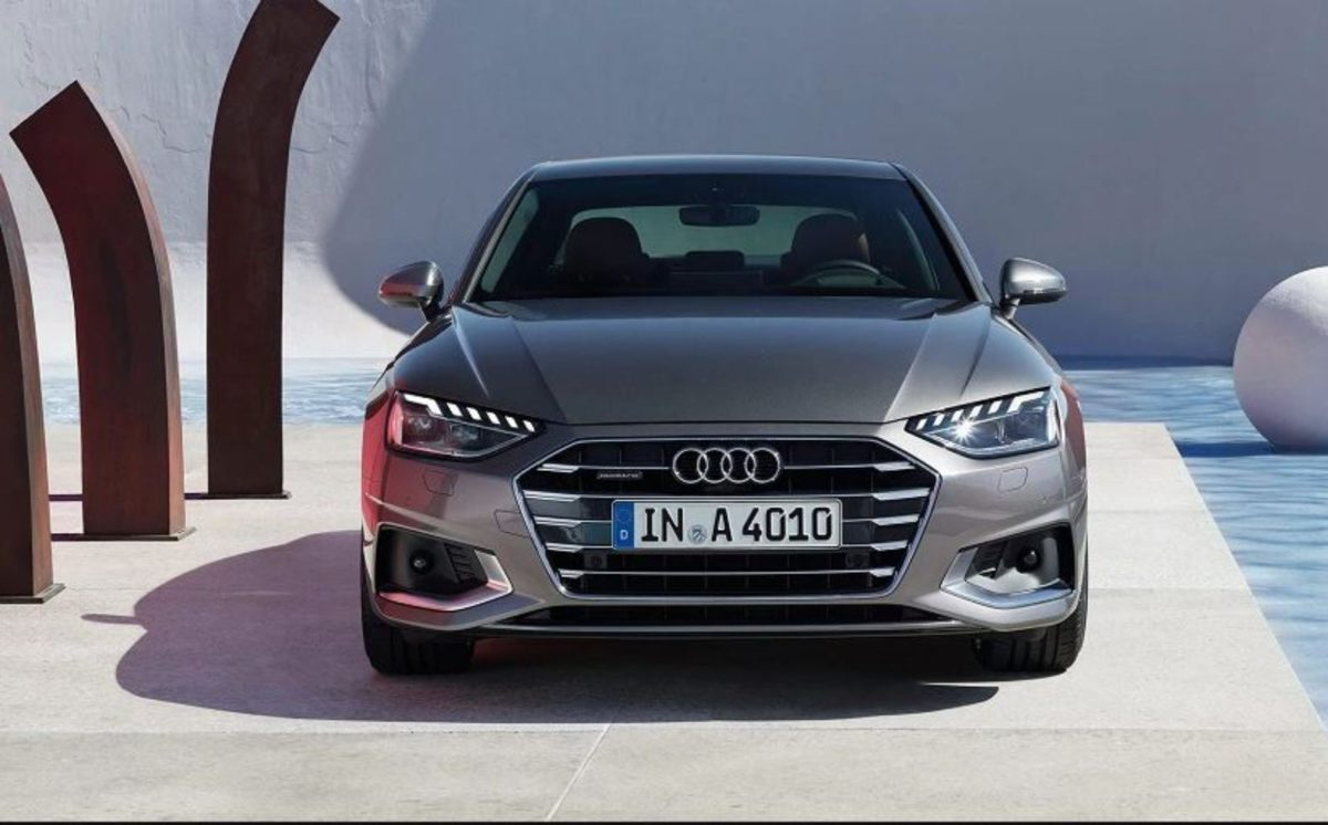 Audi A4 front look