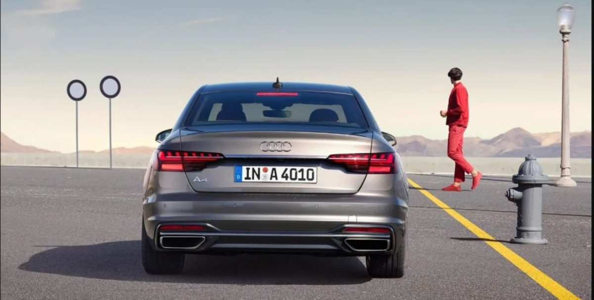 Audi A4 rear look