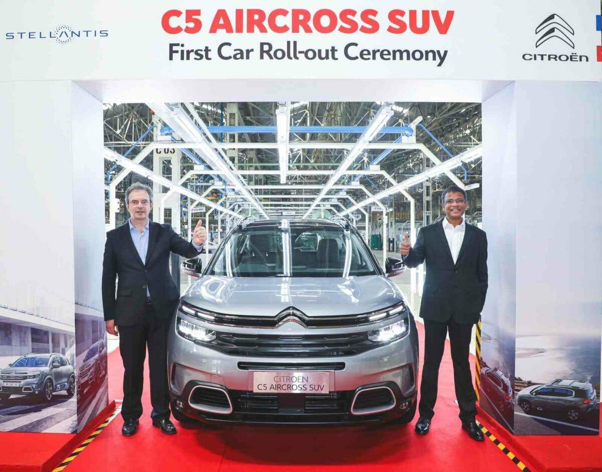 Citroen C5 Aircross production starts