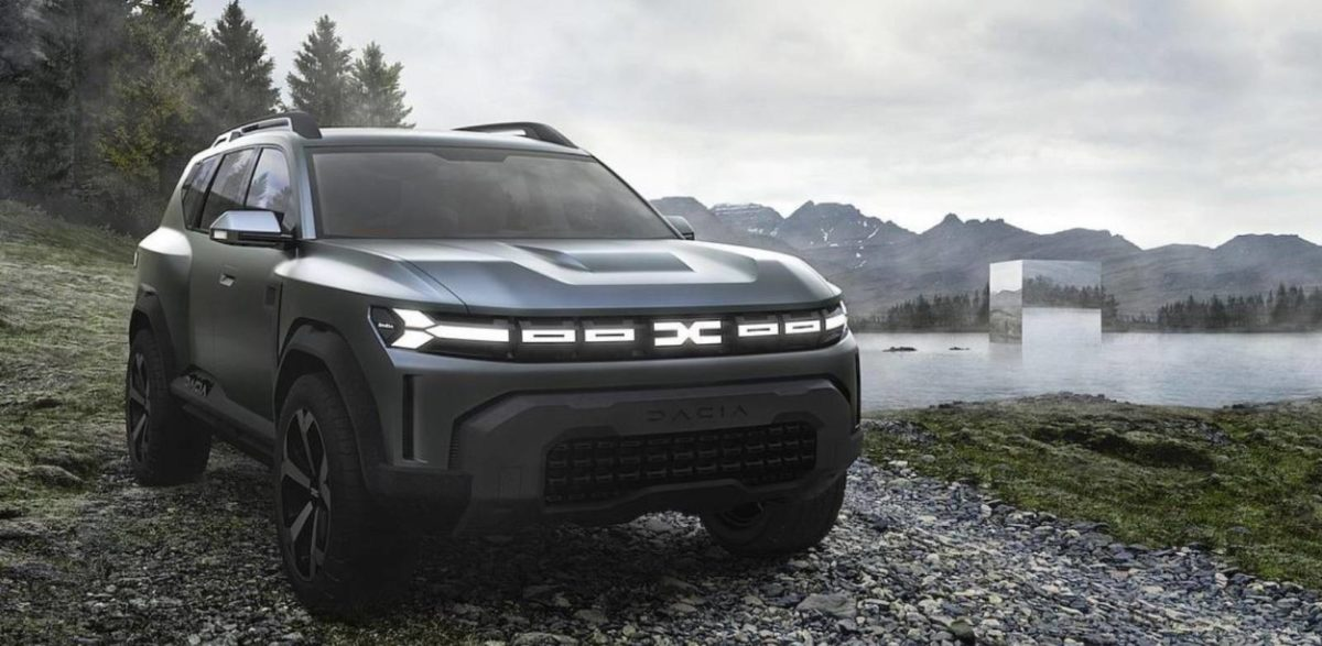 Dacia Bigster concept front look