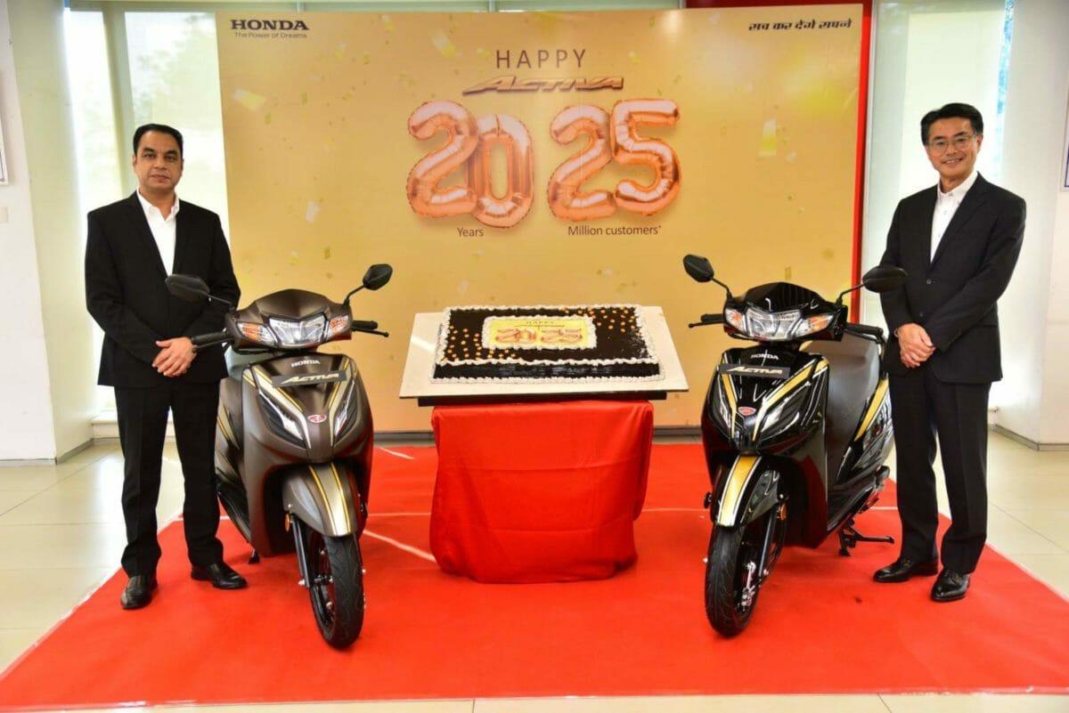 Honda Activa 2.5 crore sales (1)