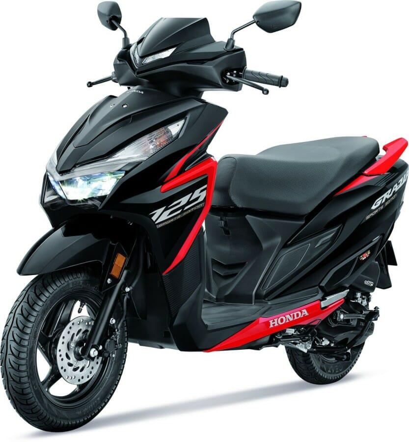 Honda Grazia Sports Edition front_side
