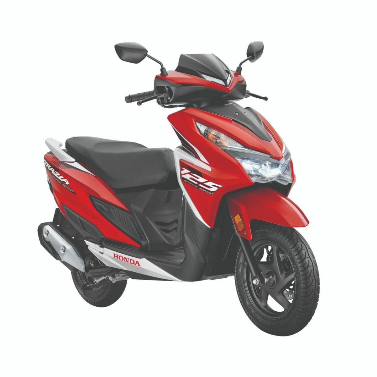Honda Grazia Sports Edition red