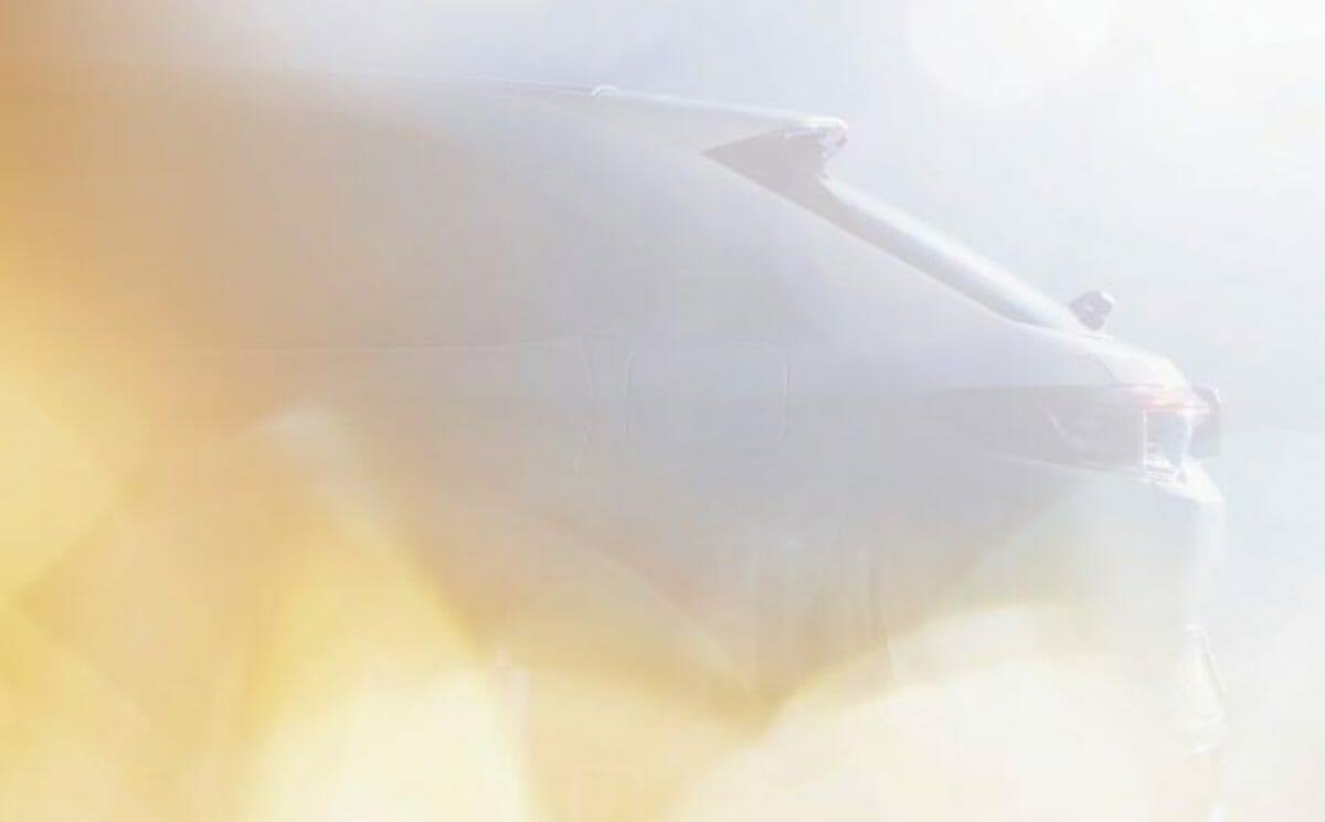 Honda HR V teaser