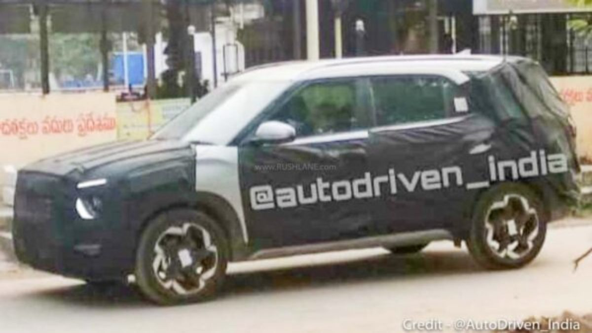 Hyundai Creta 7 seater spied (2)