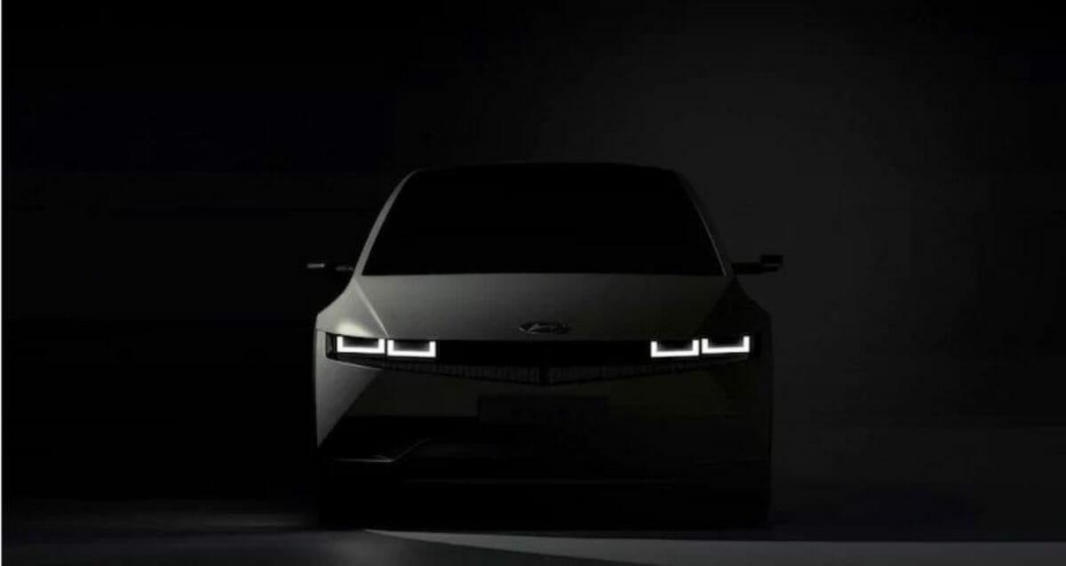 Hyundai Ioniq 5 front look