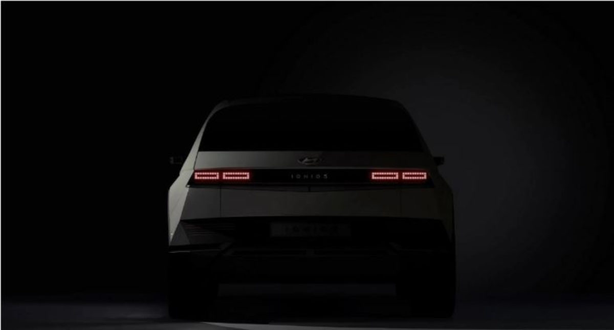 Hyundai Ioniq 5 rear look