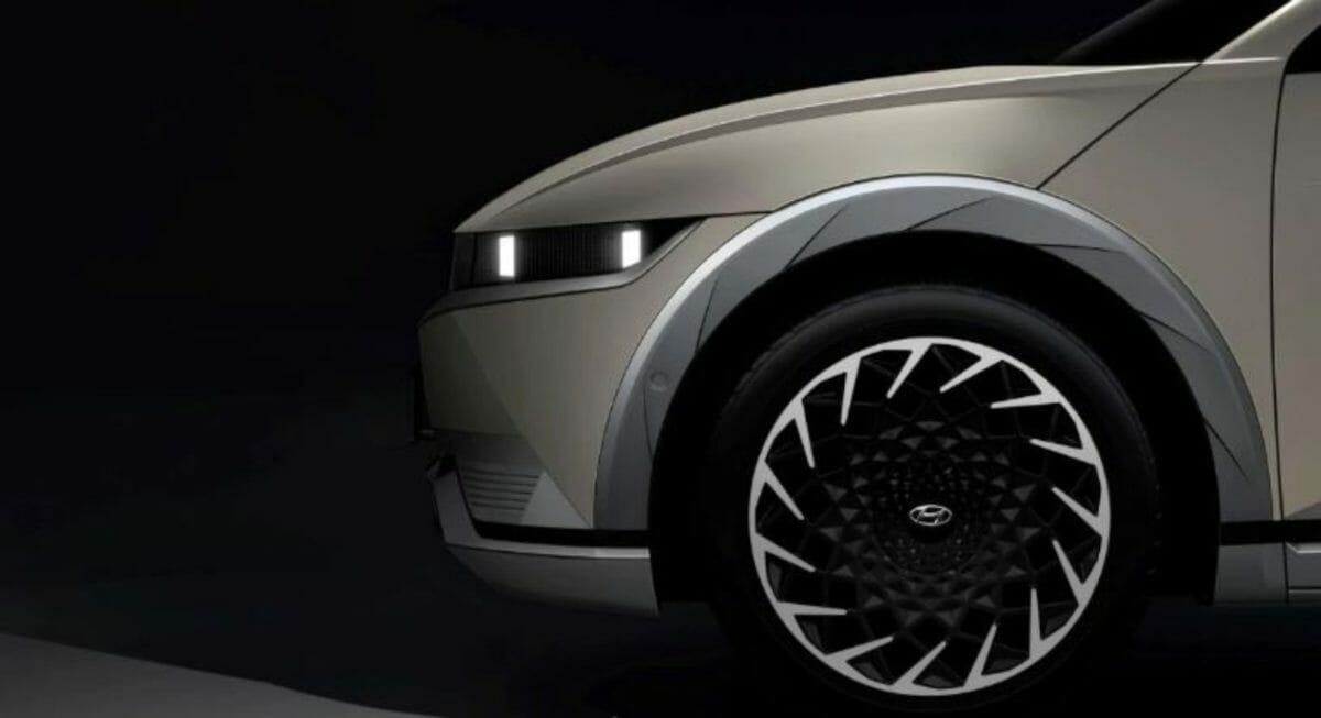 Hyundai Ioniq 5 side look