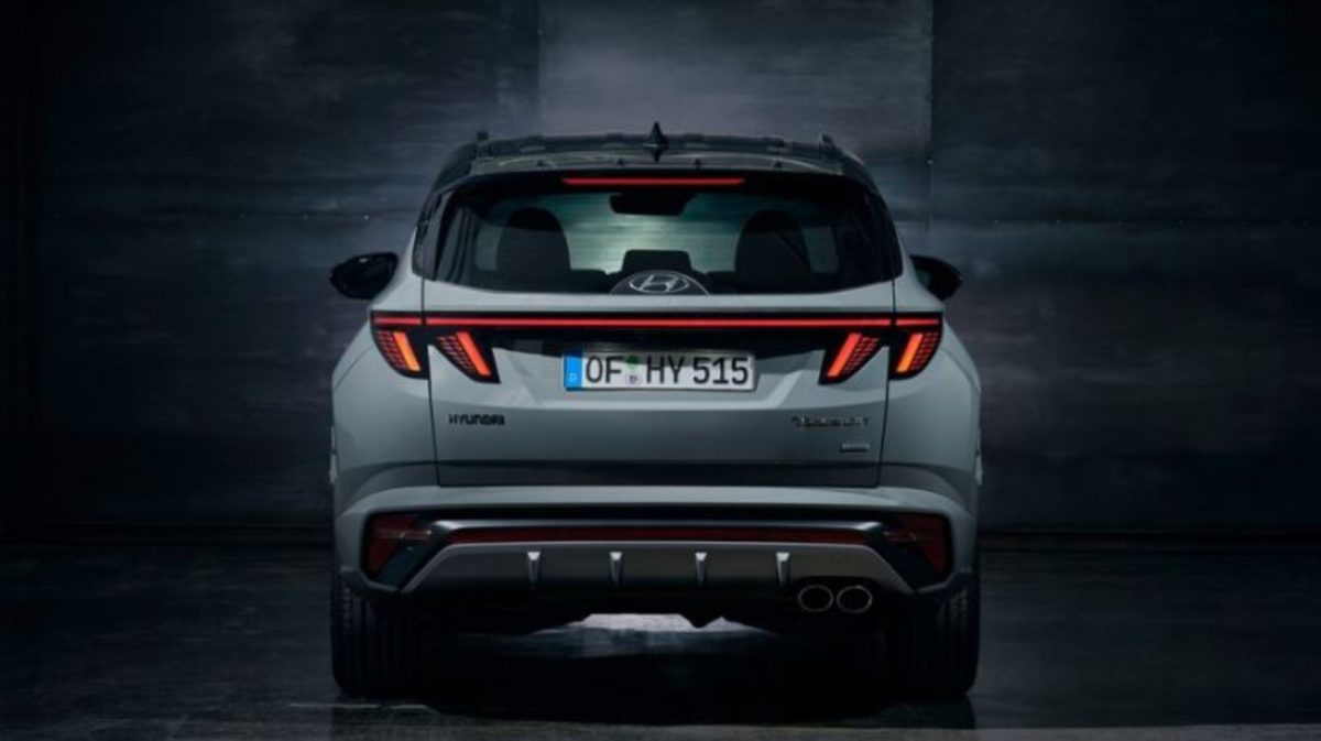 Hyundai Tuscon N rear