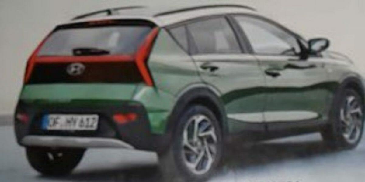Hyundai bayon suv leaked (2)
