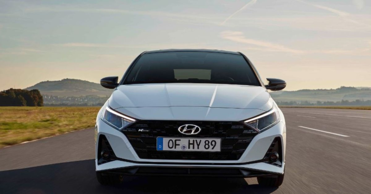 Hyundai i20 N line front