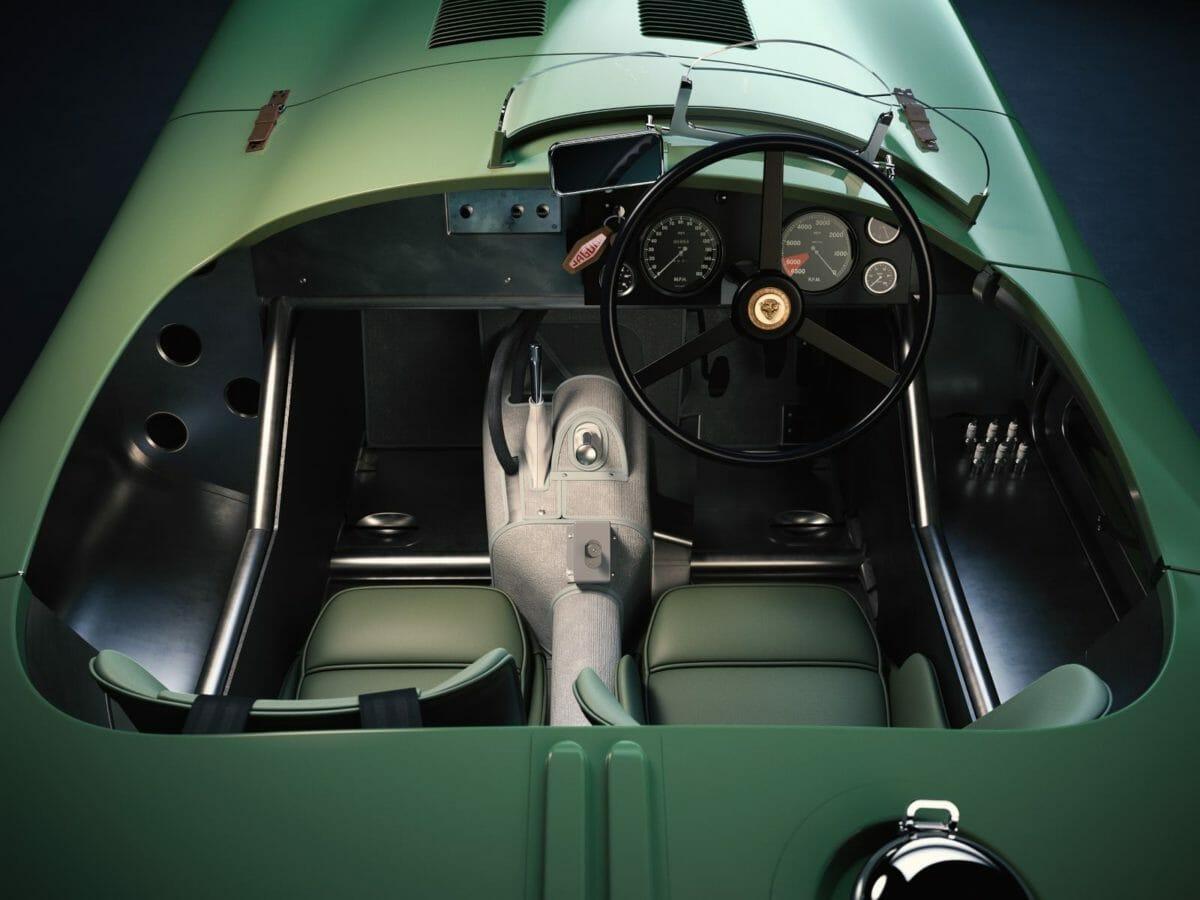 Jaguar Classic Ctype 3