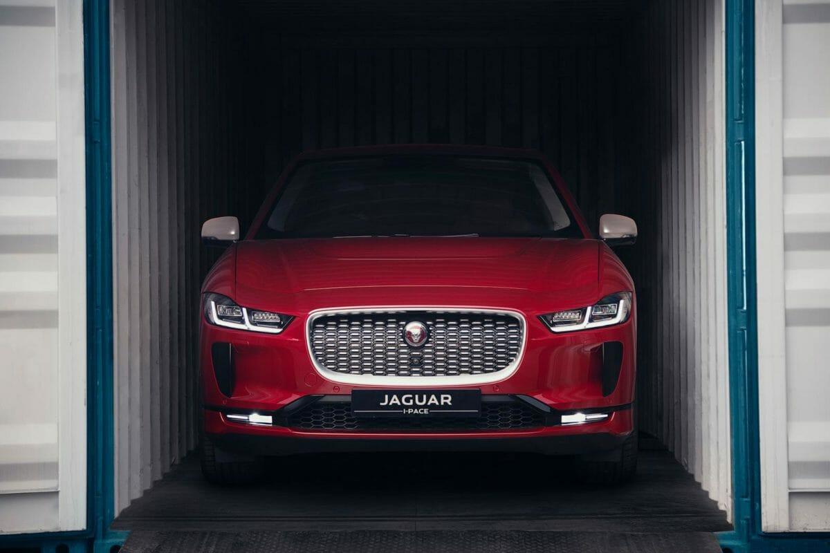 Jaguar I Pace JNPT mumbai