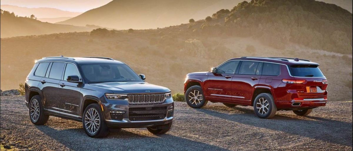 Jeep Grand Cherokee 2021 front and rear