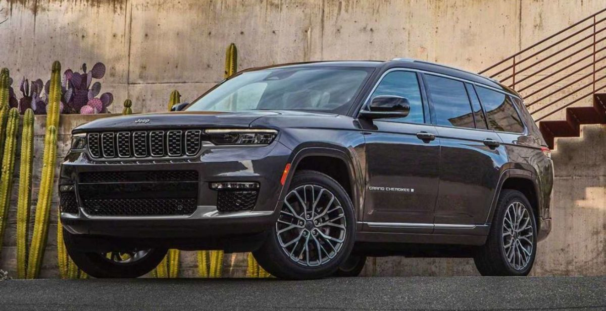 Jeep Grand Cherokee 2021 front end
