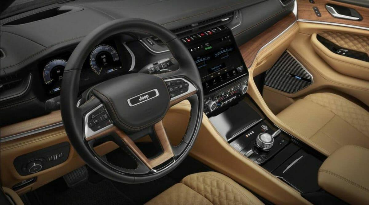 Jeep Grand Cherokee 2021 interiors