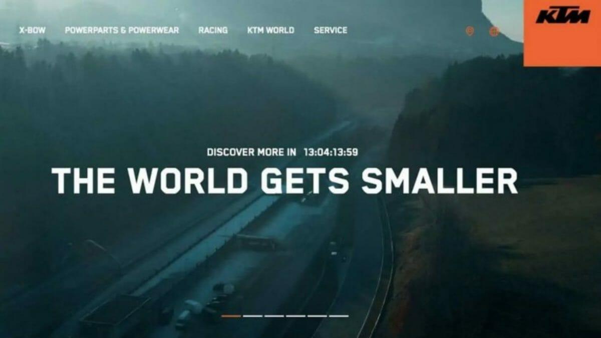 KTM super adventure teased