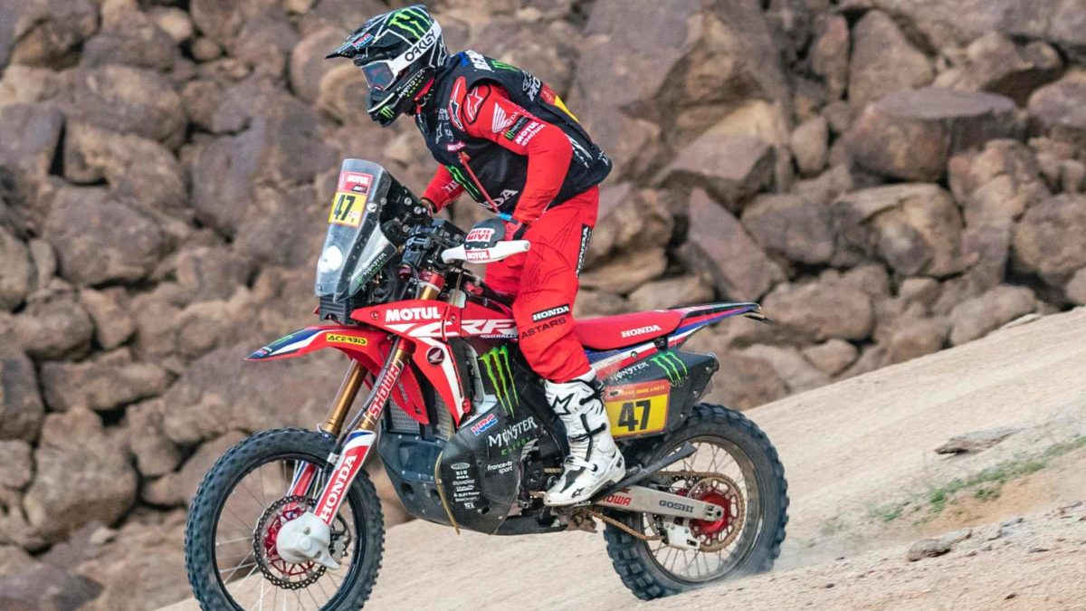 Kevin Benavides Monster Energy Honda Dakar 2021