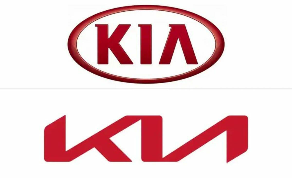 Kia's new VS old logo