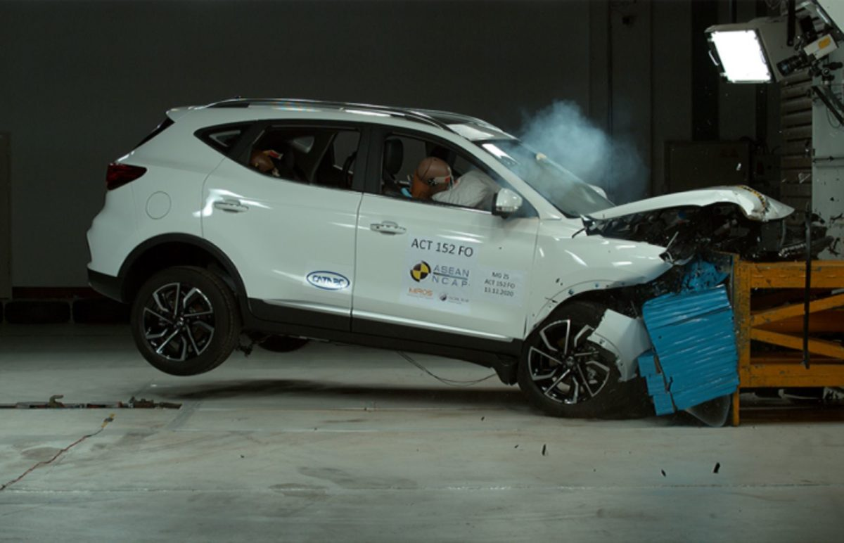 MG ZS Crash Test