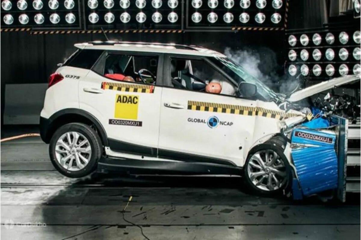 Mahindra XUV 300 crash test
