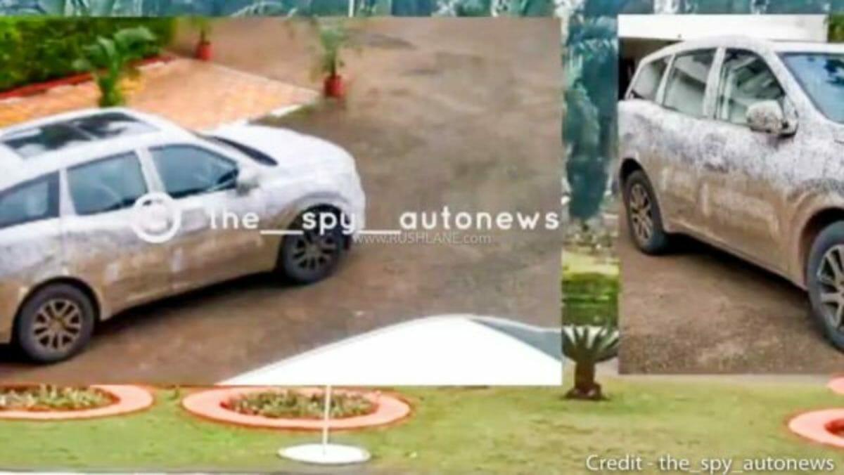 Mahindra XUV500 new spy shots (2)