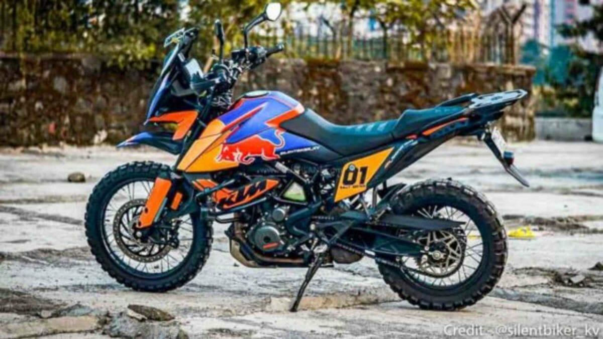 Modified KTM adventure 390 (1)