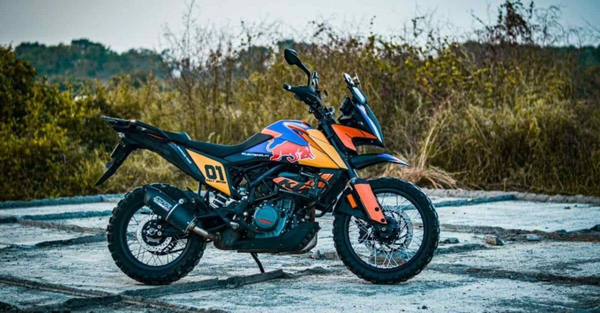 Modified KTM adventure 390