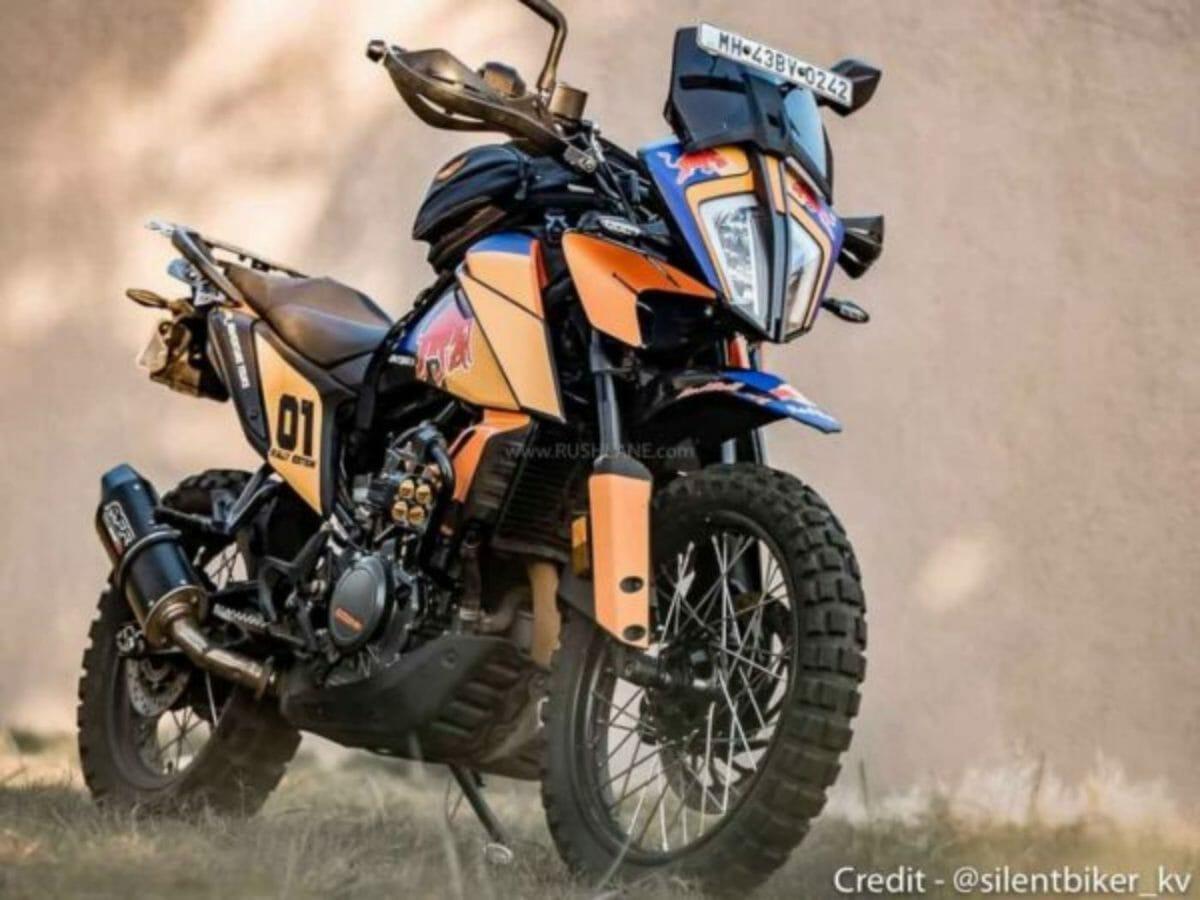 Modified KTM adventure 390 (2)