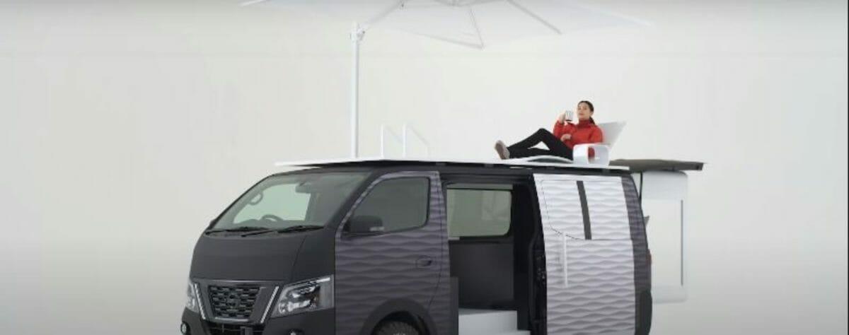 Nissan NV350 office pod 3