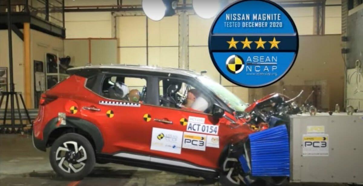 Nissan magnite crash test results (1)