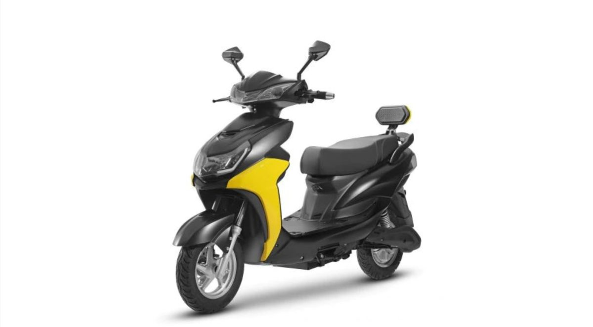 Odysee Electric E2Go Yellow flanks