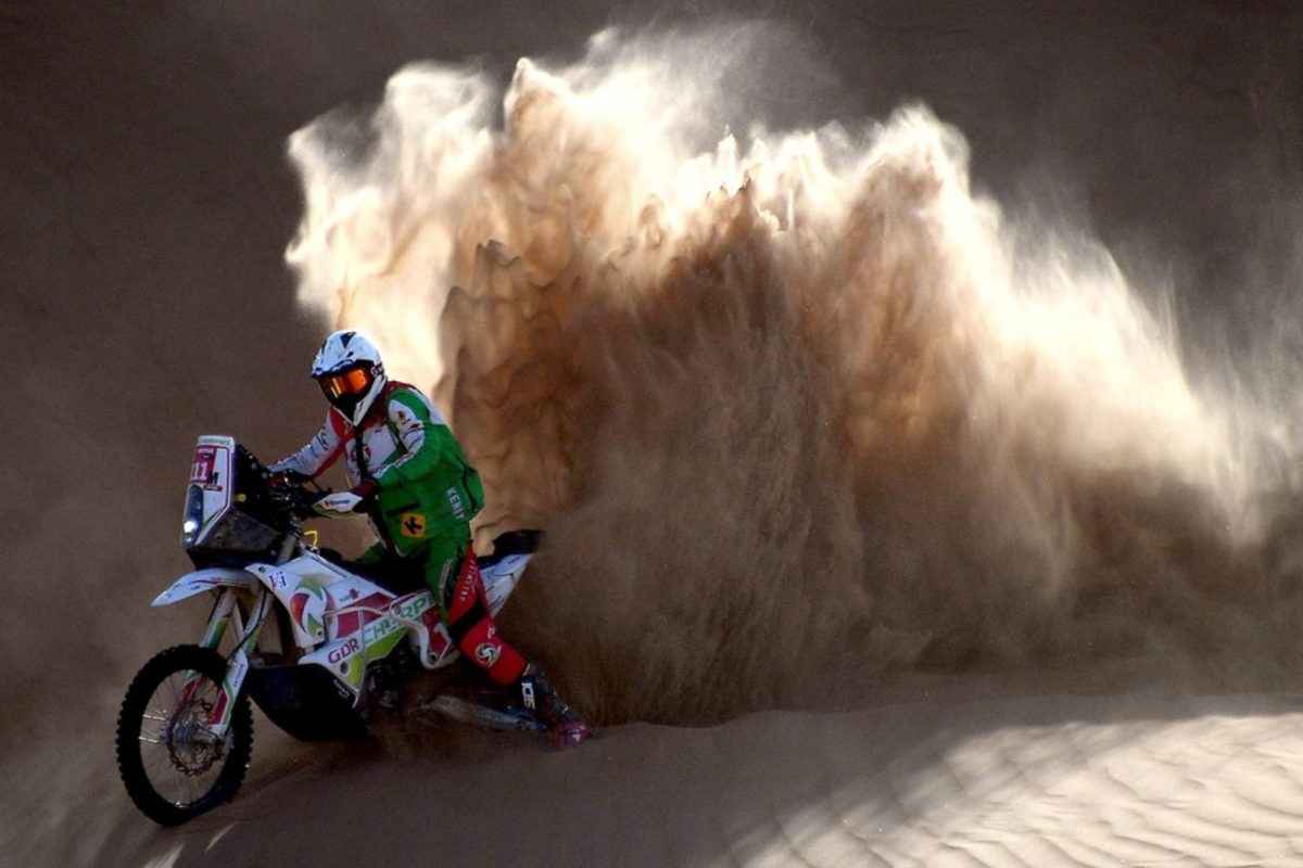 Pierre Charpin Dakar rally