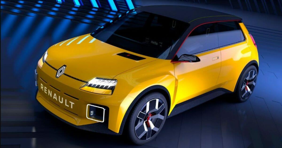 Renault 5 front 3 quarters