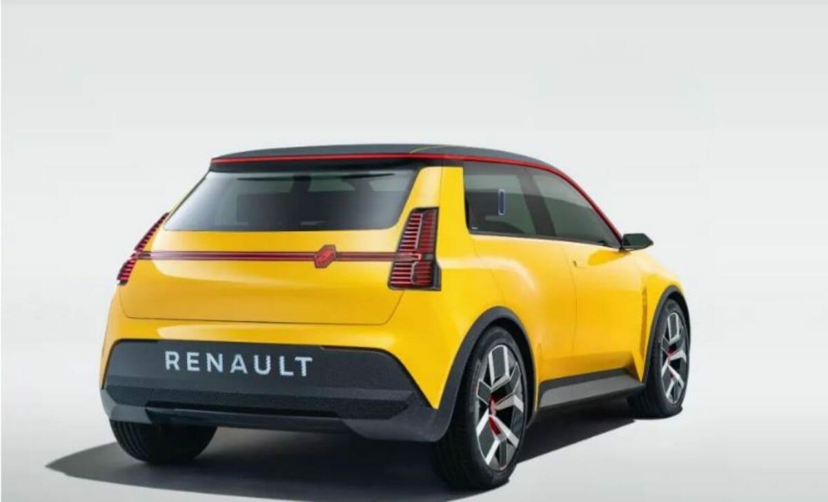 Renault 5 rear 3 quarters