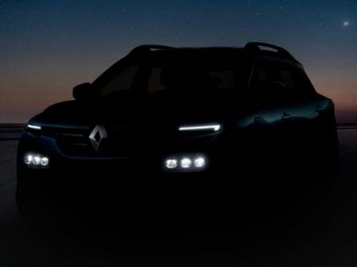 Renault Kiger Teased