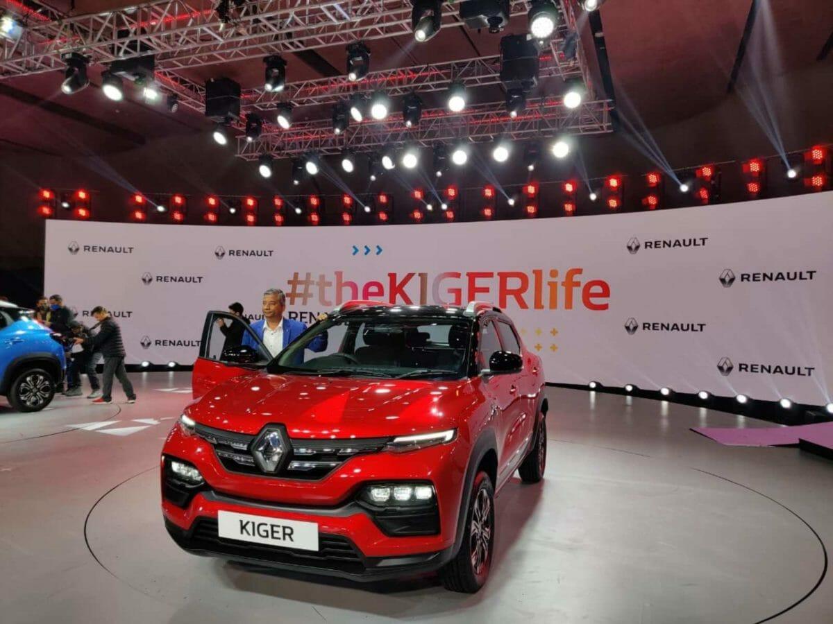 Renault Kiger front 3 quarters