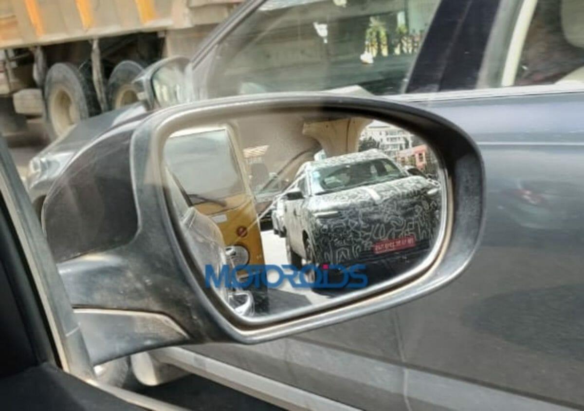 Renault Kiger spotted testing (2)